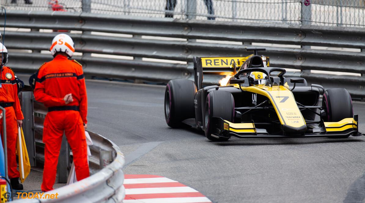 FIA Formula 2 MONTE CARLO, MONACO - MAY 23: Guanyu Zhou (CHN, UNI VIRTUOSI) during the Monaco at Monte Carlo on May 23, 2019 in Monte Carlo, Monaco. (Photo by Joe Portlock / LAT Images / FIA F2 Championship) FIA Formula 2 Joe Portlock  Monaco
