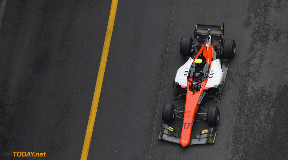 FIA Formula 2 MONTE CARLO, MONACO - MAY 24: Mahaveer Raghunathan (IND, MP MOTORSPORT) during the Monaco at Monte Carlo on May 24, 2019 in Monte Carlo, Monaco. (Photo by Jerry Andre / LAT Images / FIA F2 Championship) FIA Formula 2 Jerry Andre  Monaco  action