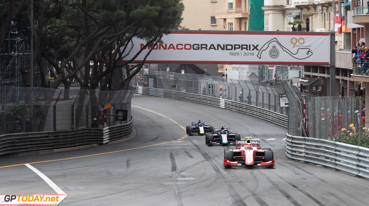 FIA Formula 2 MONTE CARLO, MONACO - MAY 24: Sean Gelael (IDN,PREMA RACING) during the Monaco at Monte Carlo on May 24, 2019 in Monte Carlo, Monaco. (Photo by Joe Portlock / LAT Images / FIA F2 Championship) FIA Formula 2 Joe Portlock  Monaco
