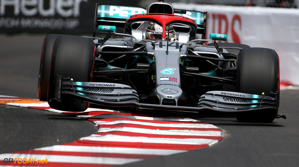 Formula One World Championship Lewis Hamilton (GBR), Mercedes AMG F1   25.05.2019. Formula 1 World Championship, Rd 6, Monaco Grand Prix, Monte Carlo, Monaco, Qualifying Day. - www.xpbimages.com, EMail: requests@xpbimages.com - copy of publication required for printed pictures. Every used picture is fee-liable. (C) Copyright: Charniaux / XPB Images Motor Racing - Formula One World Championship - Monaco Grand Prix - Saturday - Monte Carlo, Monaco XPB Images Monaco Monte Carlo  Formel1 Formel F1 Formula 1 Formula1 GP Grand Prix one May Monaco Monte Carlo Monte-Carlo Saturday 25 5 05 2019 Qualifying Action Track