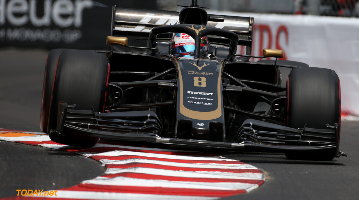 Formula One World Championship Romain Grosjean (FRA), Haas F1 Team  25.05.2019. Formula 1 World Championship, Rd 6, Monaco Grand Prix, Monte Carlo, Monaco, Qualifying Day. - www.xpbimages.com, EMail: requests@xpbimages.com - copy of publication required for printed pictures. Every used picture is fee-liable. (C) Copyright: Charniaux / XPB Images Motor Racing - Formula One World Championship - Monaco Grand Prix - Saturday - Monte Carlo, Monaco XPB Images Monaco Monte Carlo  Formel1 Formel F1 Formula 1 Formula1 GP Grand Prix one May Monaco Monte Carlo Monte-Carlo Saturday 25 5 05 2019 Qualifying Action Track