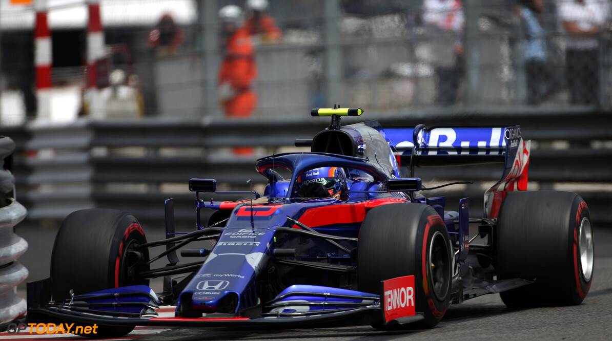 Formula One World Championship Alexander Albon (THA), Scuderia Toro Rosso  25.05.2019. Formula 1 World Championship, Rd 6, Monaco Grand Prix, Monte Carlo, Monaco, Qualifying Day. - www.xpbimages.com, EMail: requests@xpbimages.com - copy of publication required for printed pictures. Every used picture is fee-liable. (C) Copyright: Charniaux / XPB Images Motor Racing - Formula One World Championship - Monaco Grand Prix - Saturday - Monte Carlo, Monaco XPB Images Monaco Monte Carlo  Formel1 Formel F1 Formula 1 Formula1 GP Grand Prix one May Monaco Monte Carlo Monte-Carlo Saturday 25 5 05 2019 Qualifying Action Track