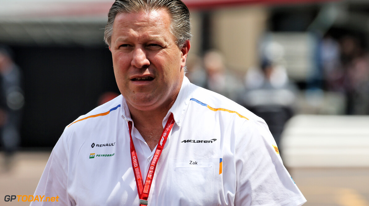 Zak Brown geeft reactie over speculatie Alonso