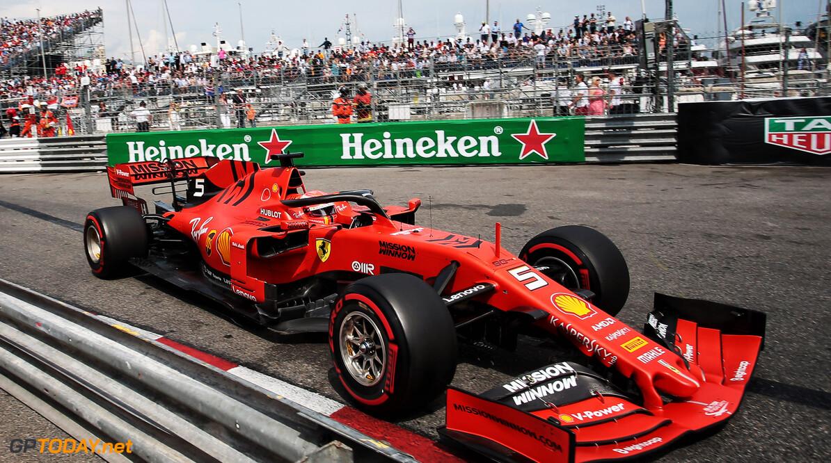Vettel gelukkig met tweede plaats, maar beseft dat Ferrari nog werk te doen heeft