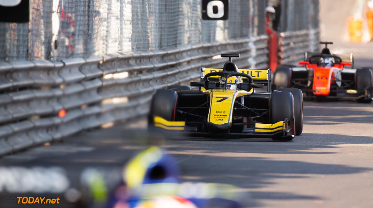 FIA Formula 2 MONTE CARLO, MONACO - MAY 25: Guanyu Zhou (CHN, UNI VIRTUOSI) during the Monaco at Monte Carlo on May 25, 2019 in Monte Carlo, Monaco. (Photo by Joe Portlock / LAT Images / FIA F2 Championship) FIA Formula 2 Joe Portlock  Monaco