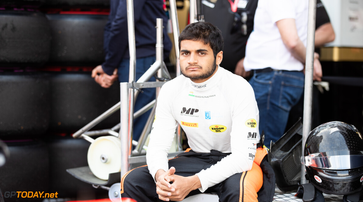 FIA Formula 2 MONTE CARLO, MONACO - MAY 25: Mahaveer Raghunathan (IND, MP MOTORSPORT) during the Monaco at Monte Carlo on May 25, 2019 in Monte Carlo, Monaco. (Photo by Joe Portlock / LAT Images / FIA F2 Championship) FIA Formula 2 Joe Portlock  Monaco