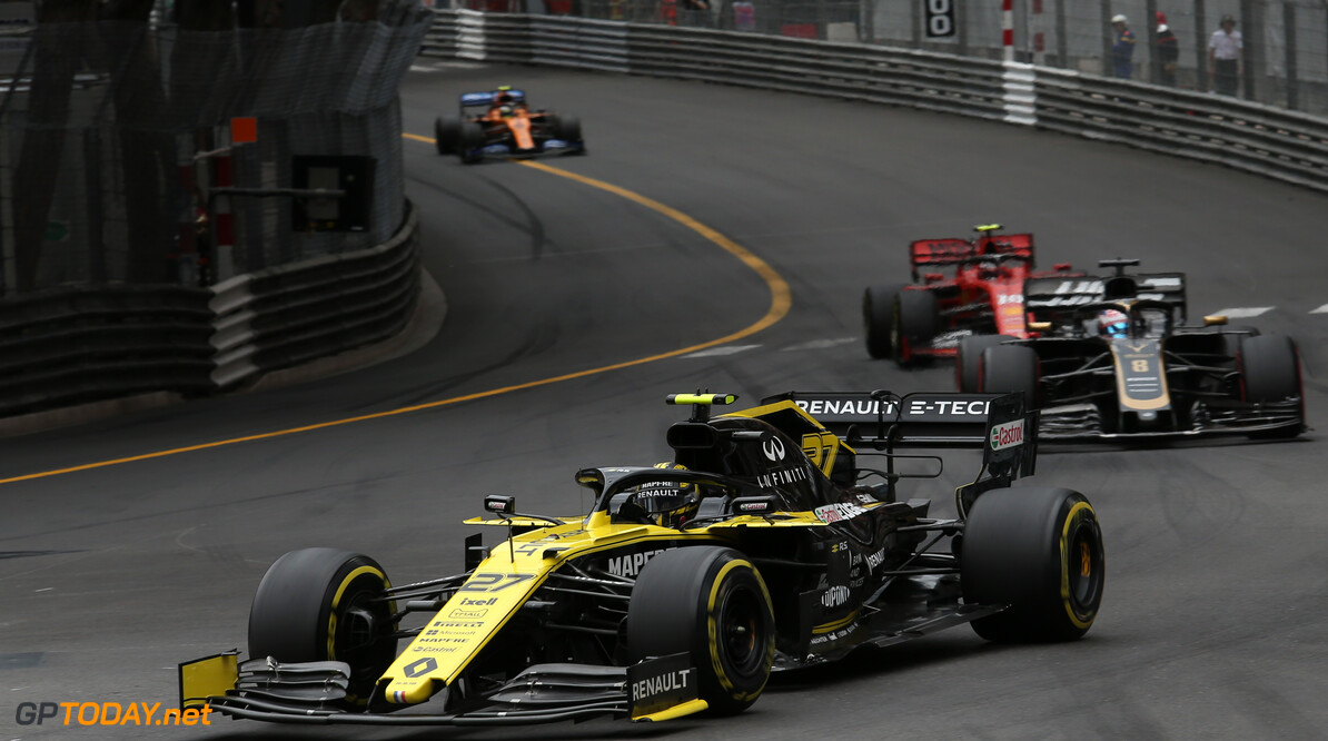Formula One World Championship Nico Hulkenberg (GER), Renault Sport F1 Team  26.05.2019. Formula 1 World Championship, Rd 6, Monaco Grand Prix, Monte Carlo, Monaco, Race Day. - www.xpbimages.com, EMail: requests@xpbimages.com - copy of publication required for printed pictures. Every used picture is fee-liable. (C) Copyright: Charniaux / XPB Images Motor Racing - Formula One World Championship - Monaco Grand Prix - Sunday - Monte Carlo, Monaco XPB Images Monaco Monte Carlo  Formel1 Formel F1 Formula 1 Formula1 GP Grand Prix one May Monaco Monte Carlo Monte-Carlo Sunday 26 5 05 2019 Race Action Track