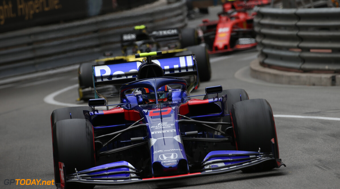 Formula One World Championship Alexander Albon (THA) Scuderia Toro Rosso STR14. 26.05.2019. Formula 1 World Championship, Rd 6, Monaco Grand Prix, Monte Carlo, Monaco, Race Day. - www.xpbimages.com, EMail: requests@xpbimages.com - copy of publication required for printed pictures. Every used picture is fee-liable. (C) Copyright: Batchelor / XPB Images Motor Racing - Formula One World Championship - Monaco Grand Prix - Sunday - Monte Carlo, Monaco XPB Images Monaco Monte Carlo  Formel1 Formel F1 Formula 1 Formula1 GP Grand Prix one May Monaco Monte Carlo Monte-Carlo Sunday 26 5 05 2019 Race Action Track