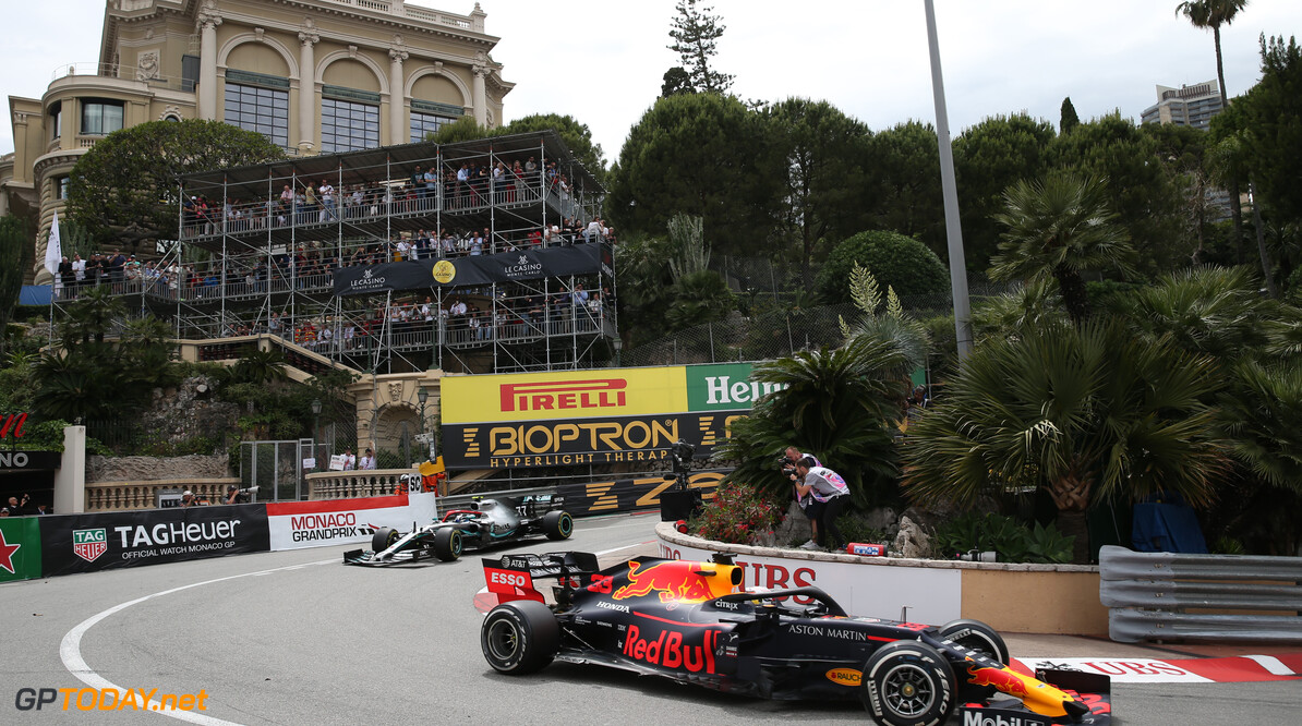 Formula One World Championship Max Verstappen (NLD) Red Bull Racing RB15. 26.05.2019. Formula 1 World Championship, Rd 6, Monaco Grand Prix, Monte Carlo, Monaco, Race Day. - www.xpbimages.com, EMail: requests@xpbimages.com - copy of publication required for printed pictures. Every used picture is fee-liable. (C) Copyright: Batchelor / XPB Images Motor Racing - Formula One World Championship - Monaco Grand Prix - Sunday - Monte Carlo, Monaco XPB Images Monaco Monte Carlo  Formel1 Formel F1 Formula 1 Formula1 GP Grand Prix one May Monaco Monte Carlo Monte-Carlo Sunday 26 5 05 2019 Race Action Track