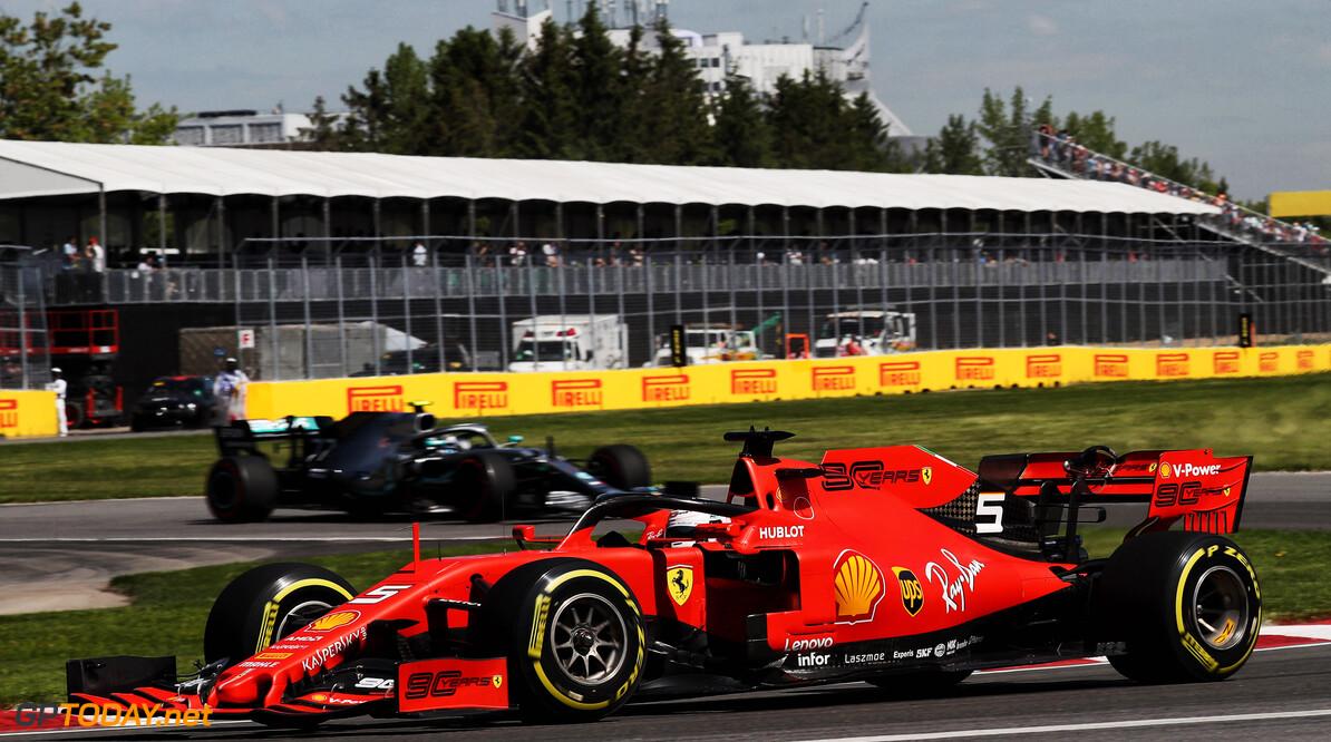 Mercedes still has a reasonable gap over Ferrari - Vettel