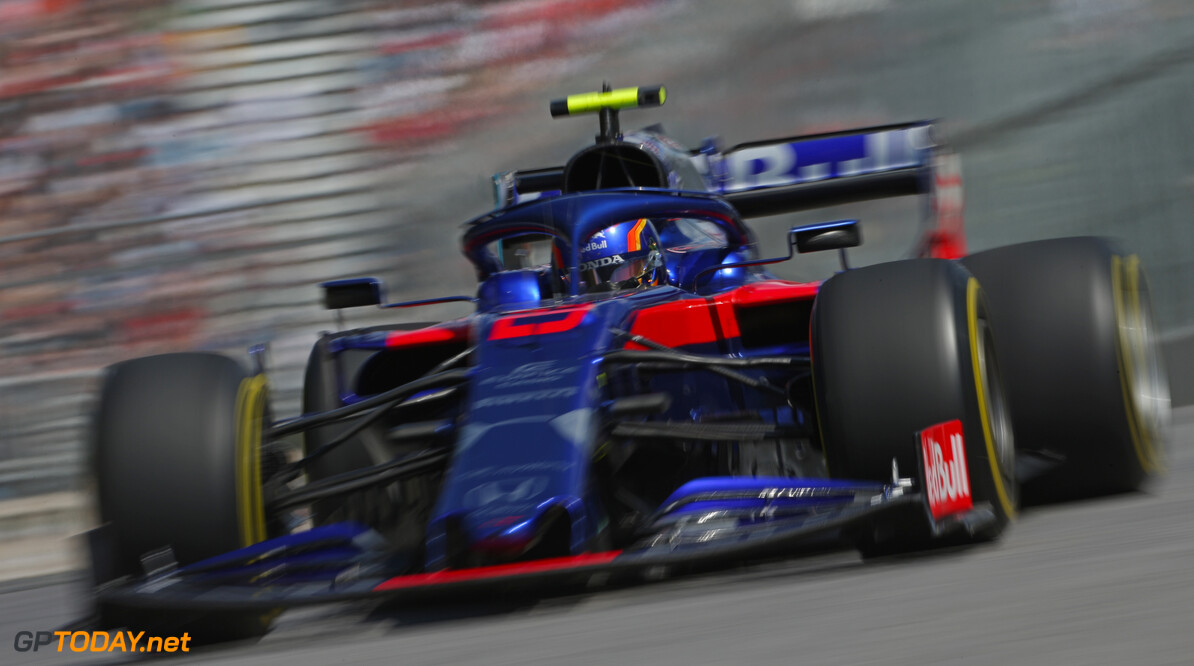 Formula One World Championship Alexander Albon (THA), Scuderia Toro Rosso  07.06.2019. Formula 1 World Championship, Rd 5, Spanish Grand Prix, Barcelona, Spain, Practice Day. - www.xpbimages.com, EMail: requests@xpbimages.com - copy of publication required for printed pictures. Every used picture is fee-liable. (C) Copyright: Charniaux / XPB Images Motor Racing - Formula One World Championship - Canadian Grand Prix - Practice Day - Montreal, Canada XPB Images Montreal Canada  Formel1 Formel F1 Formula 1 Formula1 GP Grand Prix one Canada Canadian Montreal Ille Notre Dame Circuit June Friday 07 7 6 06 2019 Action Track