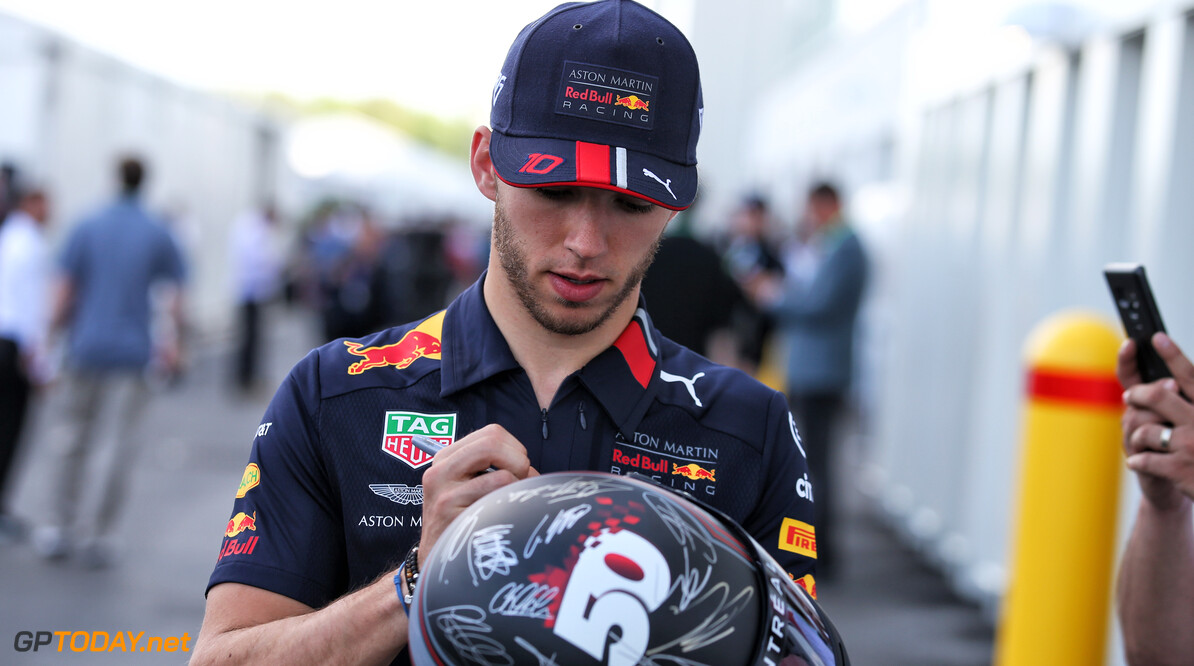 Gasly excited for 'special' home race