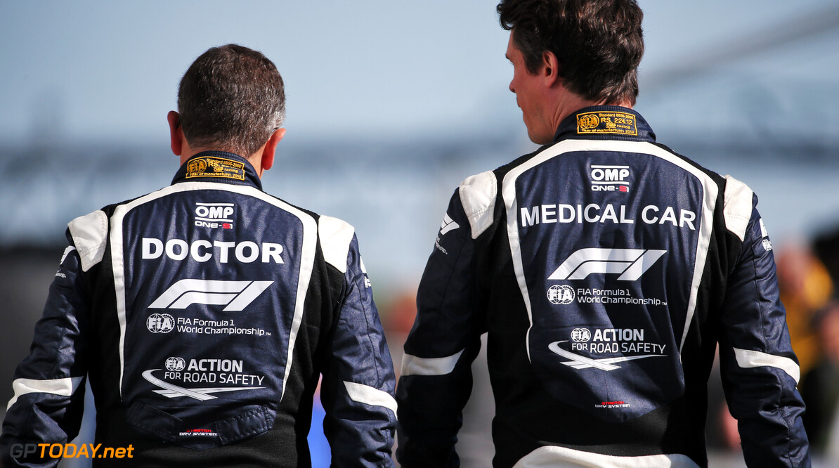 <b>Video:</b> The duties of the F1 medical staff
