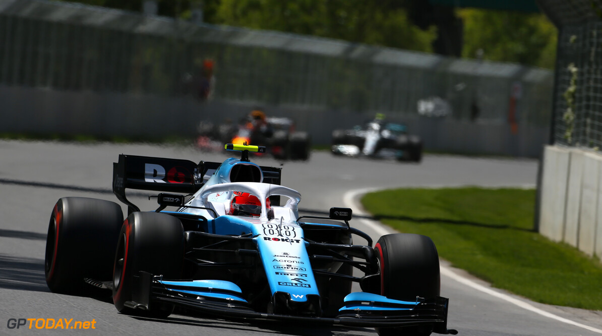 Formula One World Championship Robert Kubica (POL), Williams F1 Team  08.06.2019. Formula 1 World Championship, Rd 7, Canadian Grand Prix, Montreal, Canada, Qualifying Day. - www.xpbimages.com, EMail: requests@xpbimages.com - copy of publication required for printed pictures. Every used picture is fee-liable. (C) Copyright: Charniaux / XPB Images Motor Racing - Formula One World Championship - Canadian Grand Prix - Qualifying Day - Montreal, Canada XPB Images Montreal Canada  Formel1 Formel F1 Formula 1 Formula1 GP Grand Prix one Canada Canadian Montreal Ille Notre Dame Circuit June Saturday 08 8 06 6 2019 Practice Action Track