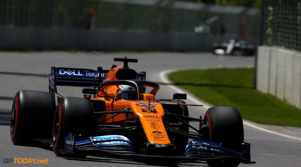 Formula One World Championship Carlos Sainz Jr (ESP), McLaren F1 Team  08.06.2019. Formula 1 World Championship, Rd 7, Canadian Grand Prix, Montreal, Canada, Qualifying Day. - www.xpbimages.com, EMail: requests@xpbimages.com - copy of publication required for printed pictures. Every used picture is fee-liable. (C) Copyright: Charniaux / XPB Images Motor Racing - Formula One World Championship - Canadian Grand Prix - Qualifying Day - Montreal, Canada XPB Images Montreal Canada  Formel1 Formel F1 Formula 1 Formula1 GP Grand Prix one Canada Canadian Montreal Ille Notre Dame Circuit June Saturday 08 8 06 6 2019 Practice Action Track