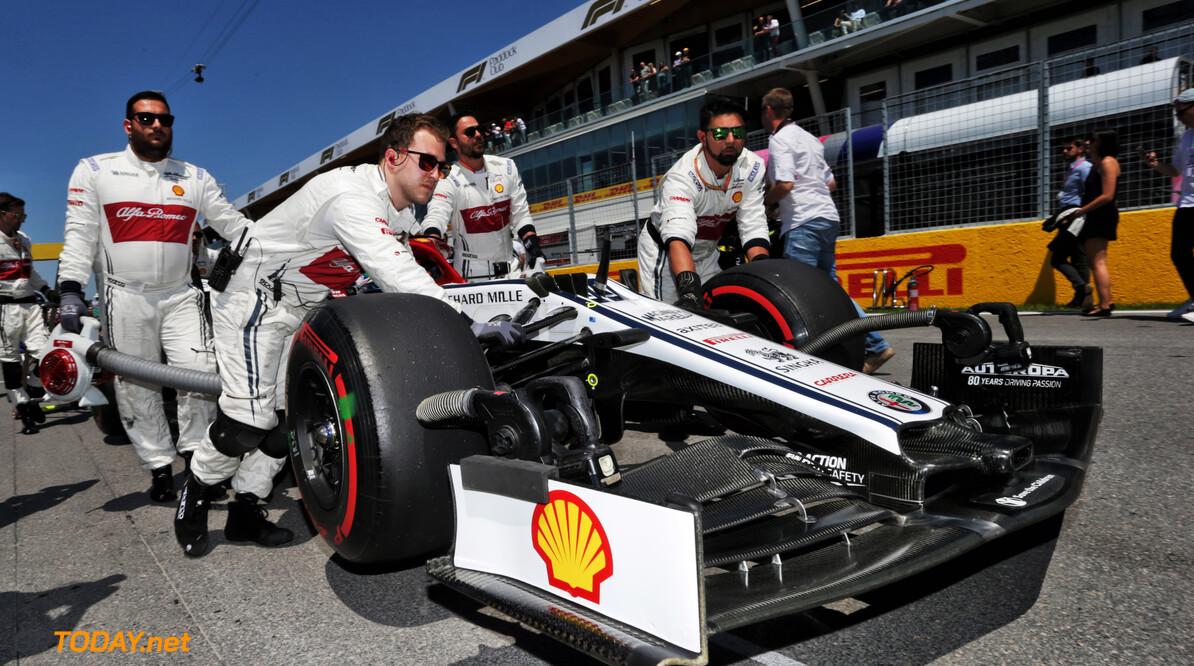 """Antonio Giovinazzi: """"Alfa Romeo moet snel een oplossing vinden om weer competitief te zijn"""""""