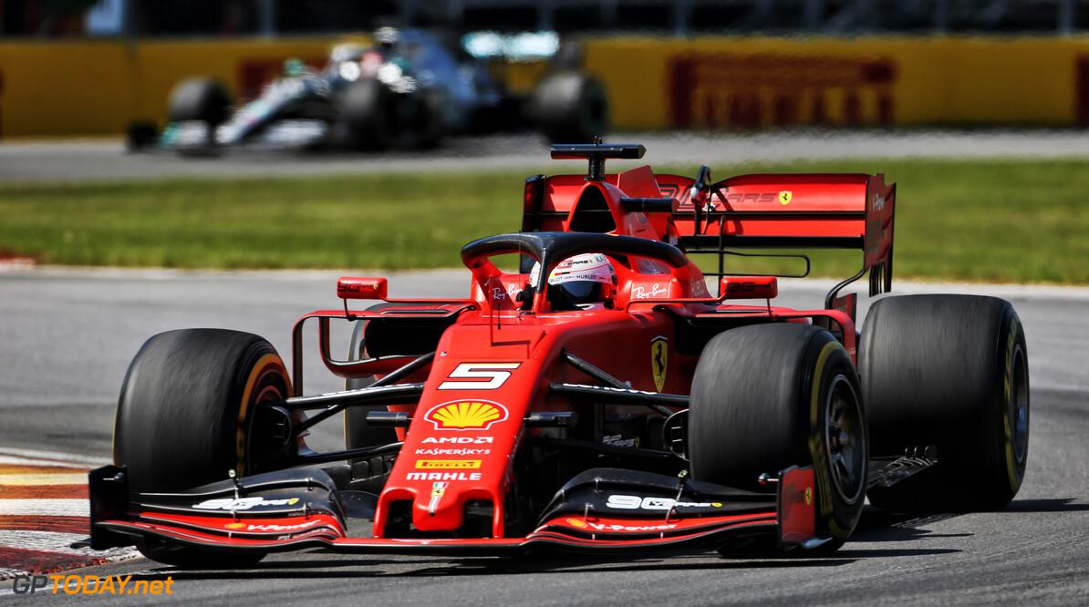 <b>Grand Prix van Canada</b>: Hamilton wint door tijdstraf Vettel, Verstappen op P5