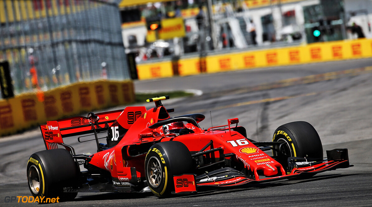 Leclerc 'pretty happy' with Canada race performance