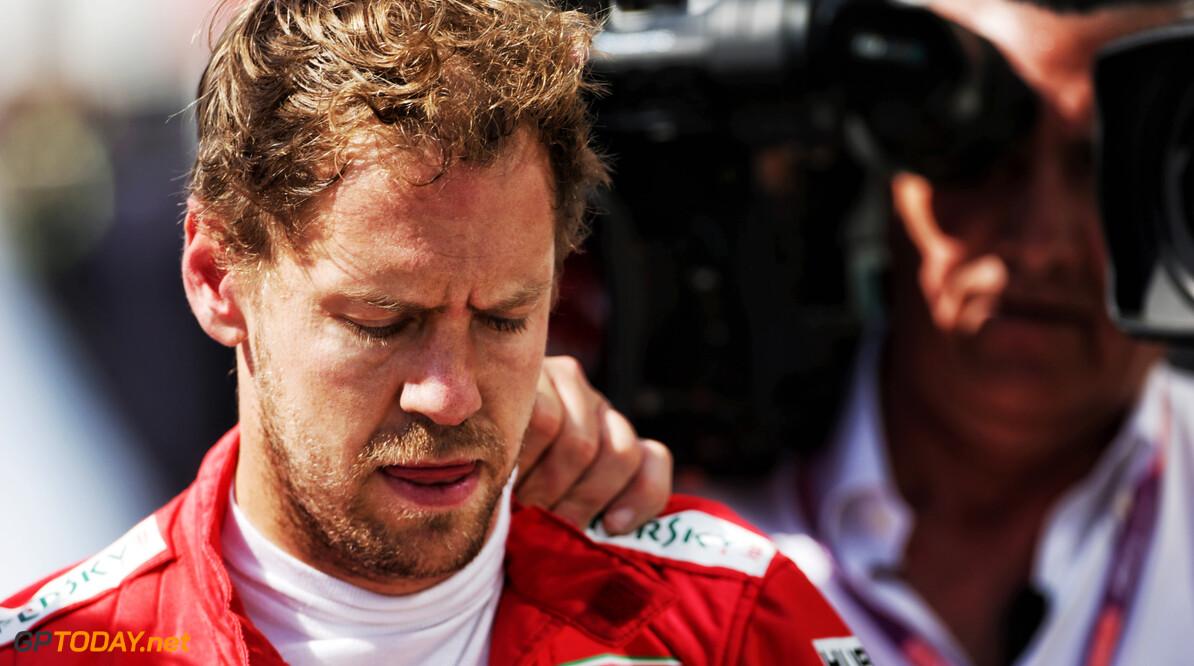 Ferrari meldt voornemen voor beroep tegen straf Vettel bij FIA
