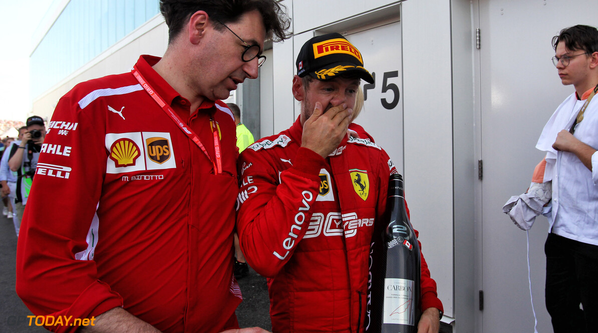 """Binotto: """"Moet met Vettel gaan praten na incident in Groot-Brittannië"""""""