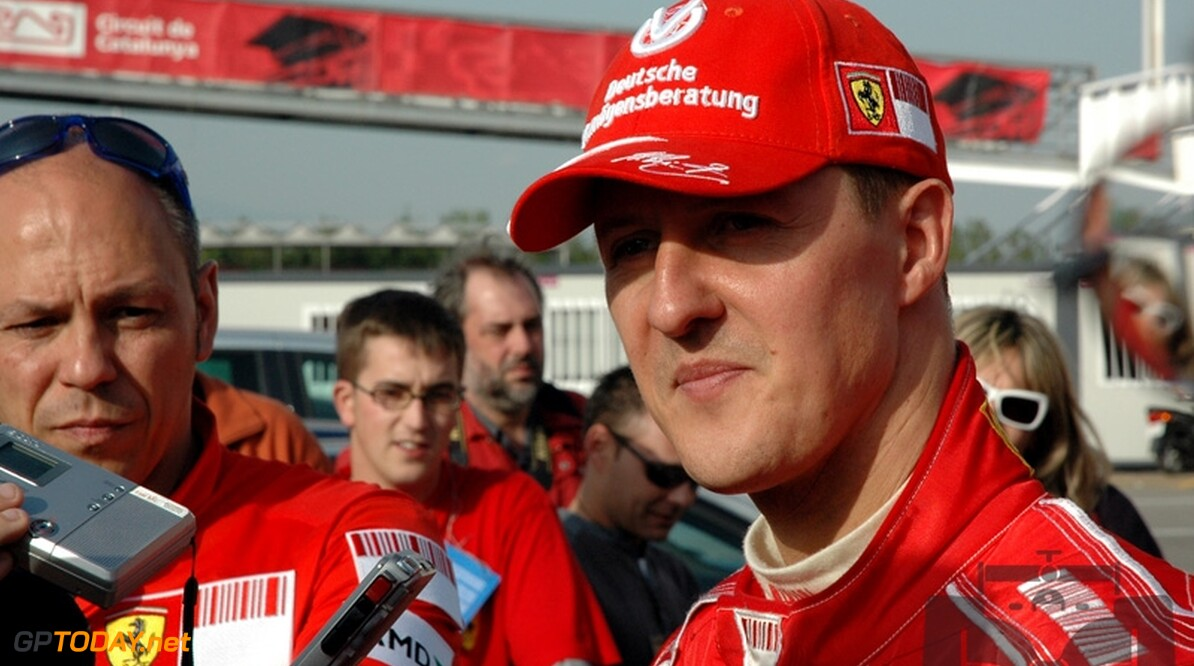 Michael Schumacher verlengt contract bij Ferrari met drie jaar