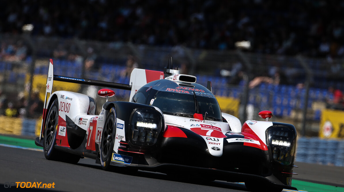 Kobayashi ends Le Mans practice on top