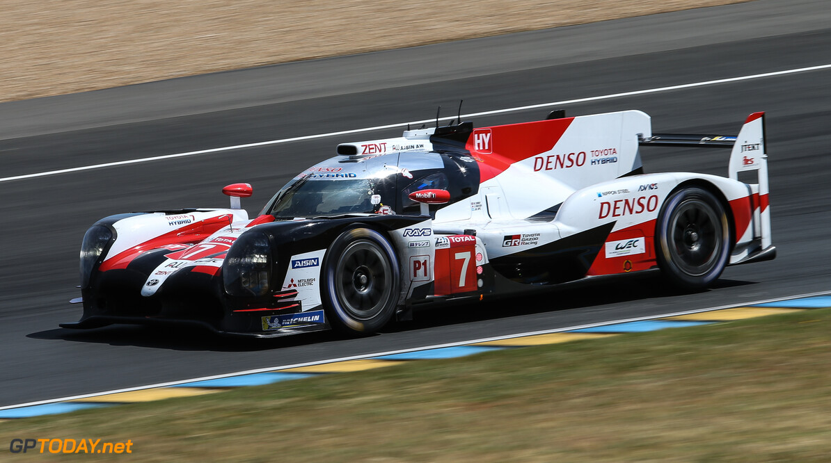 <strong> Le Mans Q1:</strong> #7 Toyota on top despite crash, #8 Toyota struggles