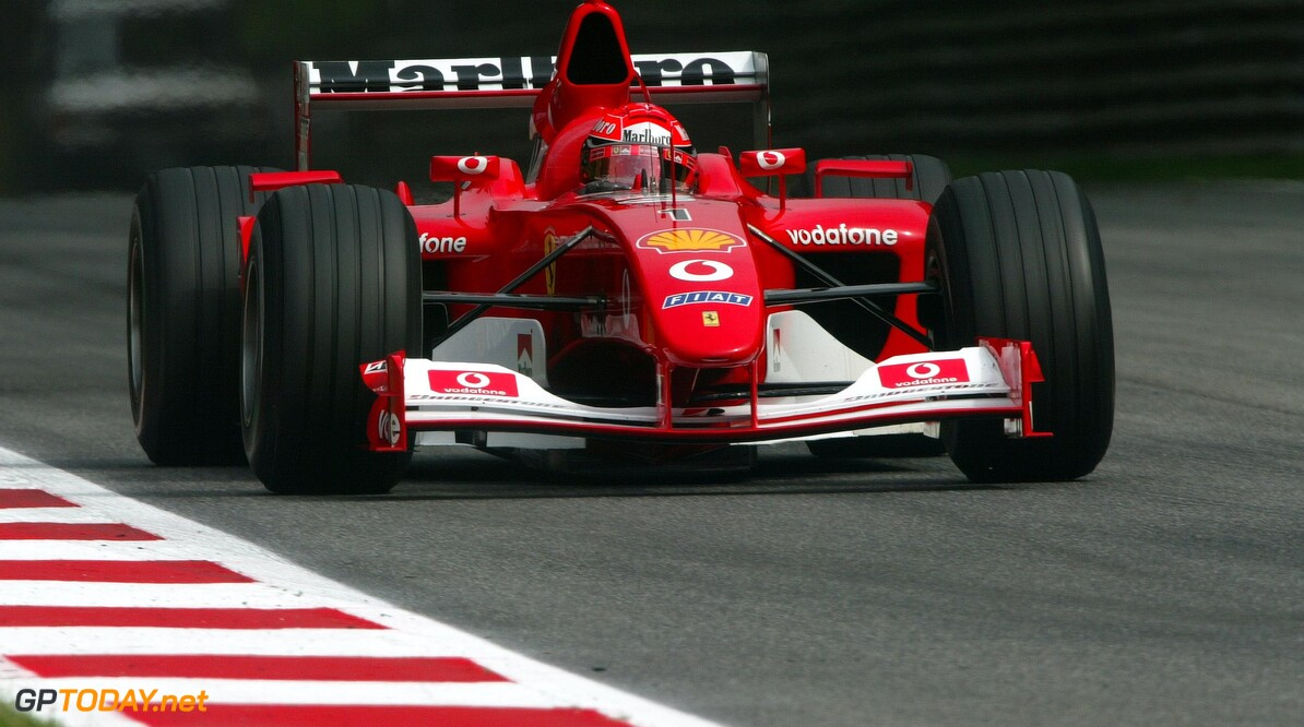 Schumacher's F1 2002 car to be auctioned