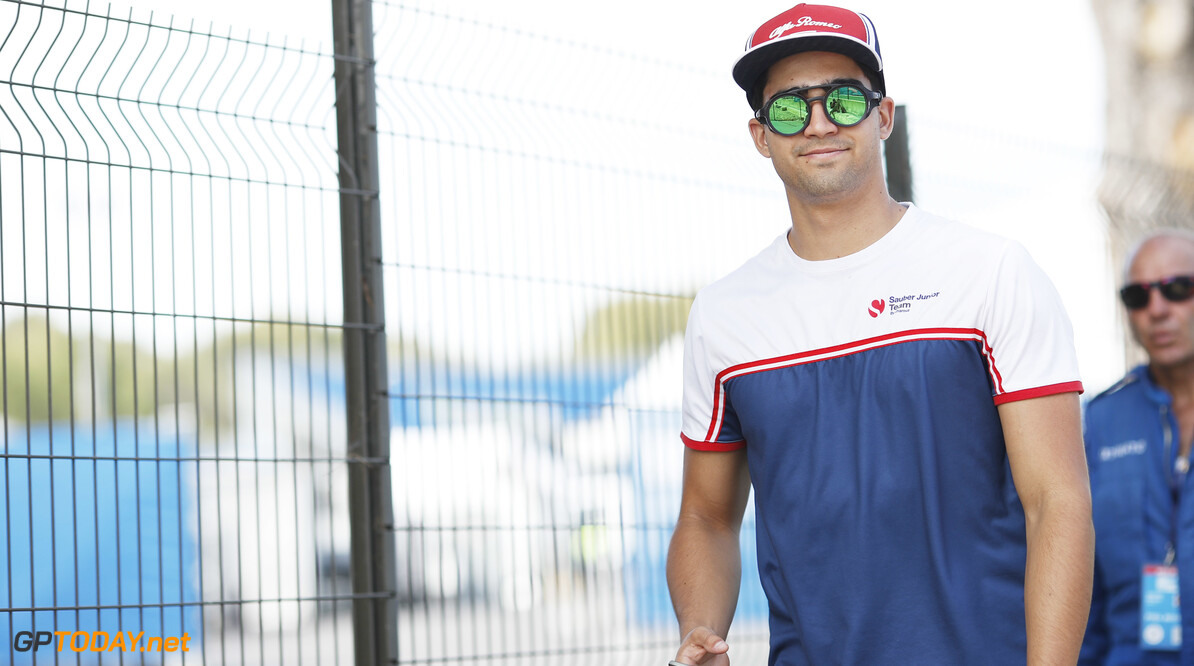 FIA Formula 2 CIRCUIT PAUL RICARD, FRANCE - JUNE 20: Juan Manuel Correa (USA, SAUBER JUNIOR TEAM BY CHAROUZ) during the Paul Ricard at Circuit Paul Ricard on June 20, 2019 in Circuit Paul Ricard, France. (Photo by Joe Portlock / LAT Images / FIA F2 Championship) FIA Formula 2 Joe Portlock  France  FIA Formula 2