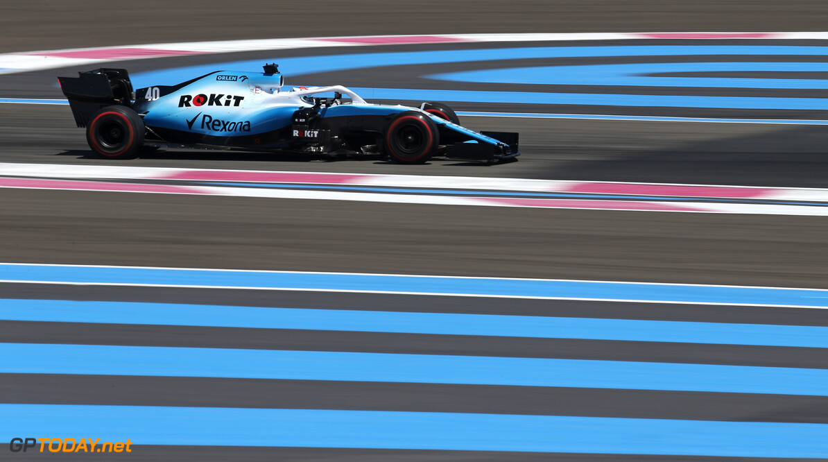 Formula One World Championship Nicholas Latifi (CDN) Williams Racing  21.06.2019. Formula 1 World Championship, Rd 8, French Grand Prix, Paul Ricard, France, Practice Day. - www.xpbimages.com, EMail: requests@xpbimages.com - copy of publication required for printed pictures. Every used picture is fee-liable. (C) Copyright: Charniaux / XPB Images Motor Racing - Formula One World Championship - French Grand Prix - Practice Day - Paul Ricard, France XPB Images Le Castellet France  Formel1 Formel F1 Formula 1 Formula1 GP Grand Prix one Friday June France French Circuit Paul Ricard Le Castellet 21 06 6 2019 Action Track