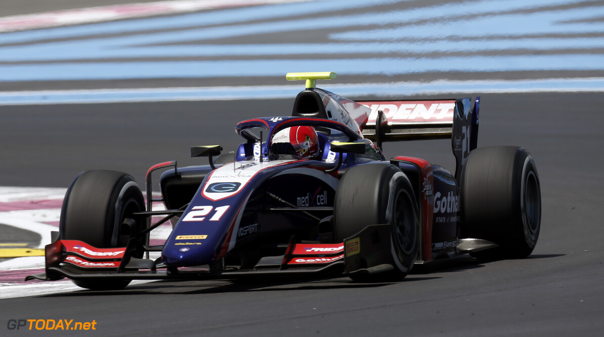 FIA Formula 2 CIRCUIT PAUL RICARD, FRANCE - JUNE 21: Ralph Boschung (CHE, TRIDENT) during the Paul Ricard at Circuit Paul Ricard on June 21, 2019 in Circuit Paul Ricard, France. (Photo by Joe Portlock / LAT Images / FIA F2 Championship) FIA Formula 2 Joe Portlock  France  action practice