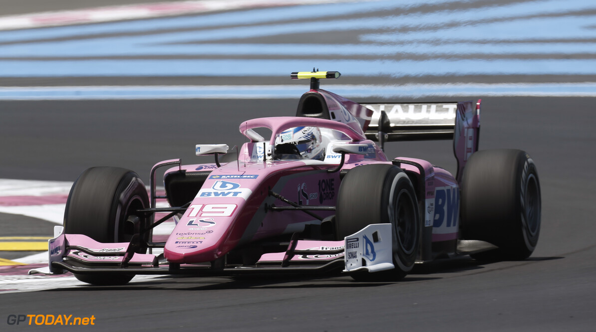 FIA Formula 2 CIRCUIT PAUL RICARD, FRANCE - JUNE 21: Anthoine Hubert (FRA, BWT ARDEN) during the Paul Ricard at Circuit Paul Ricard on June 21, 2019 in Circuit Paul Ricard, France. (Photo by Joe Portlock / LAT Images / FIA F2 Championship) FIA Formula 2 Joe Portlock  France  action practice