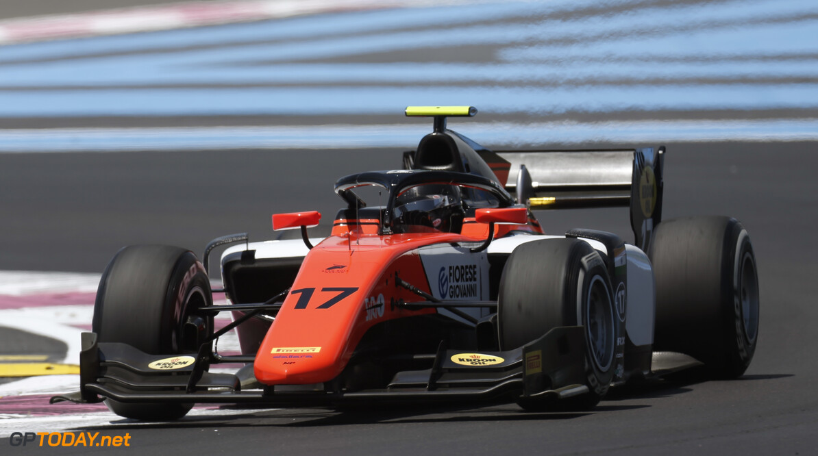 FIA Formula 2 CIRCUIT PAUL RICARD, FRANCE - JUNE 21: Mahaveer Raghunathan (IND, MP MOTORSPORT) during the Paul Ricard at Circuit Paul Ricard on June 21, 2019 in Circuit Paul Ricard, France. (Photo by Joe Portlock / LAT Images / FIA F2 Championship) FIA Formula 2 Joe Portlock  France  action practice