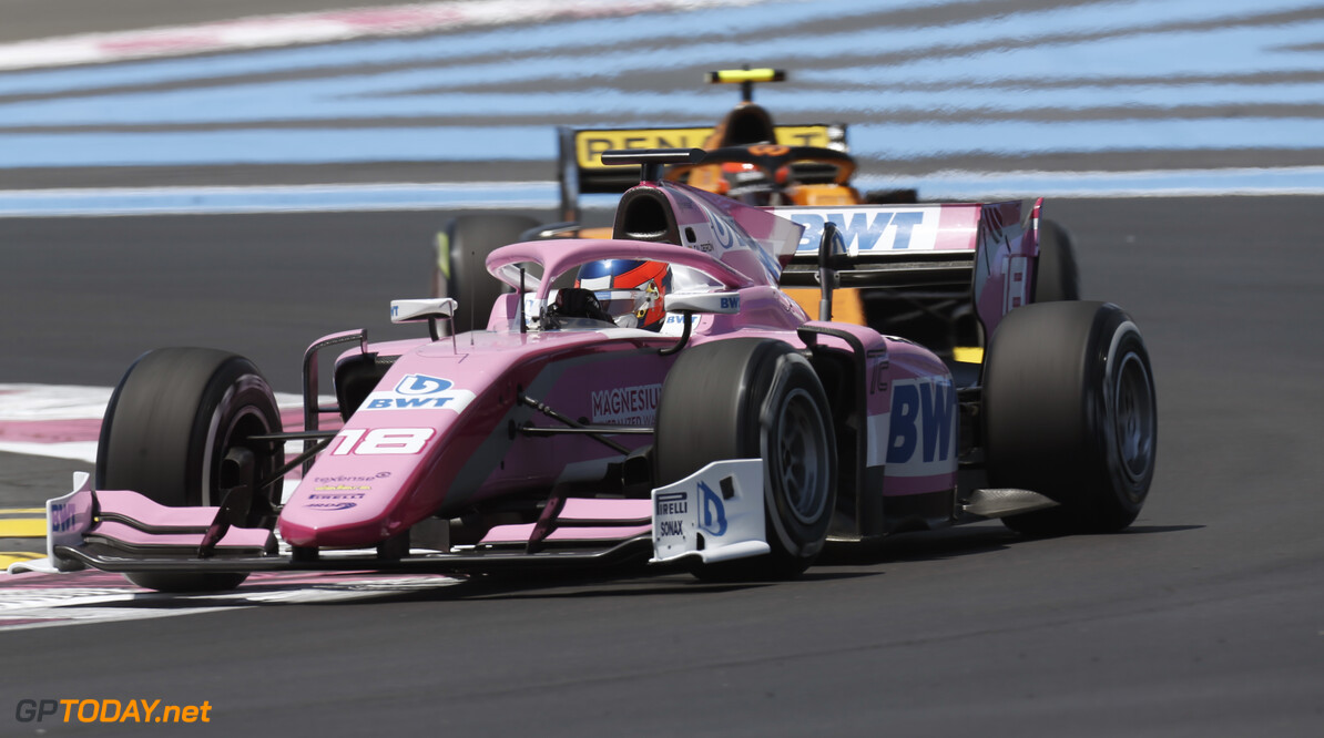 FIA Formula 2 CIRCUIT PAUL RICARD, FRANCE - JUNE 21: Tatiana Calderon (COL, BWT ARDEN) during the Paul Ricard at Circuit Paul Ricard on June 21, 2019 in Circuit Paul Ricard, France. (Photo by Joe Portlock / LAT Images / FIA F2 Championship) FIA Formula 2 Joe Portlock  France  action practice