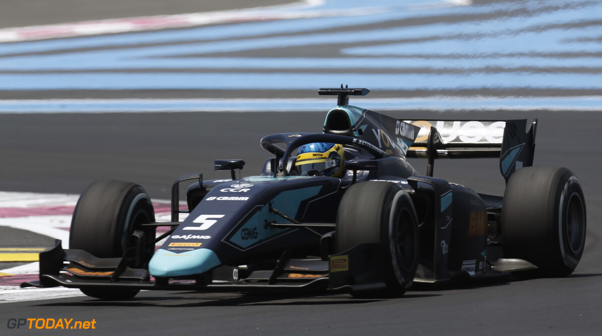 FIA Formula 2 CIRCUIT PAUL RICARD, FRANCE - JUNE 21: Sergio Sette Camara (BRA, DAMS) during the Paul Ricard at Circuit Paul Ricard on June 21, 2019 in Circuit Paul Ricard, France. (Photo by Joe Portlock / LAT Images / FIA F2 Championship) FIA Formula 2 Joe Portlock  France  action practice