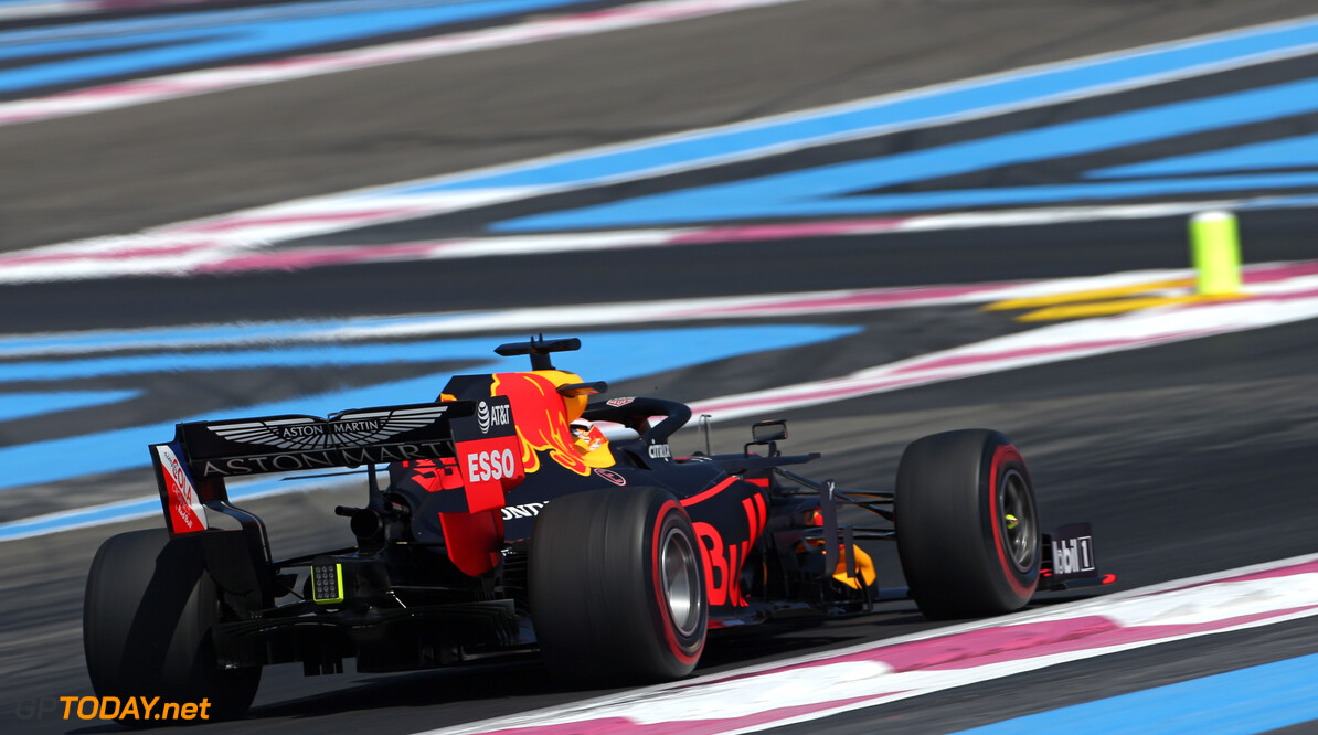 Formula One World Championship Max Verstappen (NLD), Red Bull Racing  21.06.2019. Formula 1 World Championship, Rd 8, French Grand Prix, Paul Ricard, France, Practice Day. - www.xpbimages.com, EMail: requests@xpbimages.com - copy of publication required for printed pictures. Every used picture is fee-liable. (C) Copyright: Charniaux / XPB Images Motor Racing - Formula One World Championship - French Grand Prix - Practice Day - Paul Ricard, France XPB Images Le Castellet France  Formel1 Formel F1 Formula 1 Formula1 GP Grand Prix one Friday June France French Circuit Paul Ricard Le Castellet 21 06 6 2019 Action Track