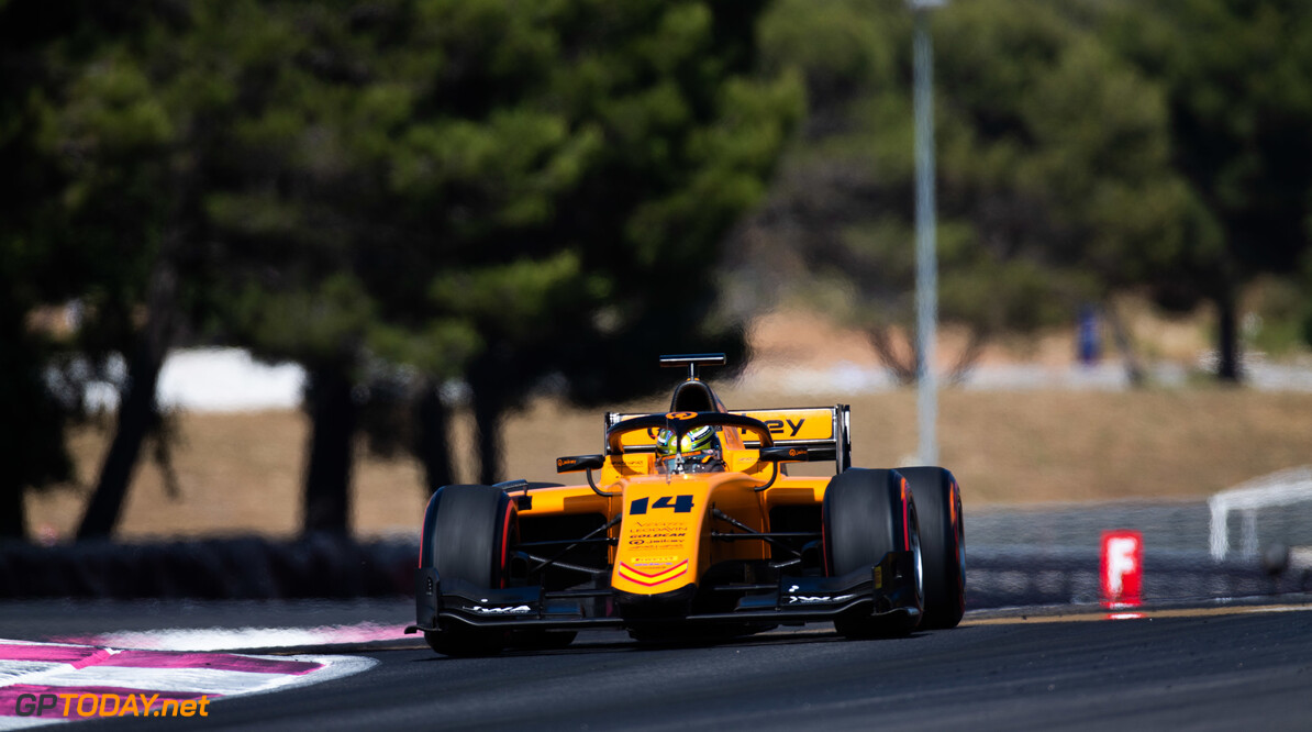 FIA Formula 2 CIRCUIT PAUL RICARD, FRANCE - JUNE 21: Dorian Boccolacci (FRA, CAMPOS RACING) during the Paul Ricard at Circuit Paul Ricard on June 21, 2019 in Circuit Paul Ricard, France. (Photo by Joe Portlock / LAT Images / FIA F2 Championship) FIA Formula 2 Joe Portlock  France  FIA Formula 2