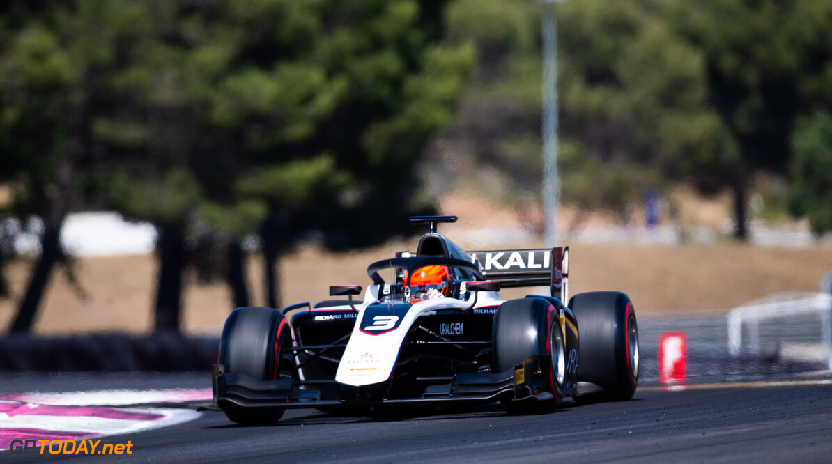 FIA Formula 2 CIRCUIT PAUL RICARD, FRANCE - JUNE 21: Nikita Mazepin (RUS, ART Grand Prix) during the Paul Ricard at Circuit Paul Ricard on June 21, 2019 in Circuit Paul Ricard, France. (Photo by Joe Portlock / LAT Images / FIA F2 Championship) FIA Formula 2 Joe Portlock  France  FIA Formula 2