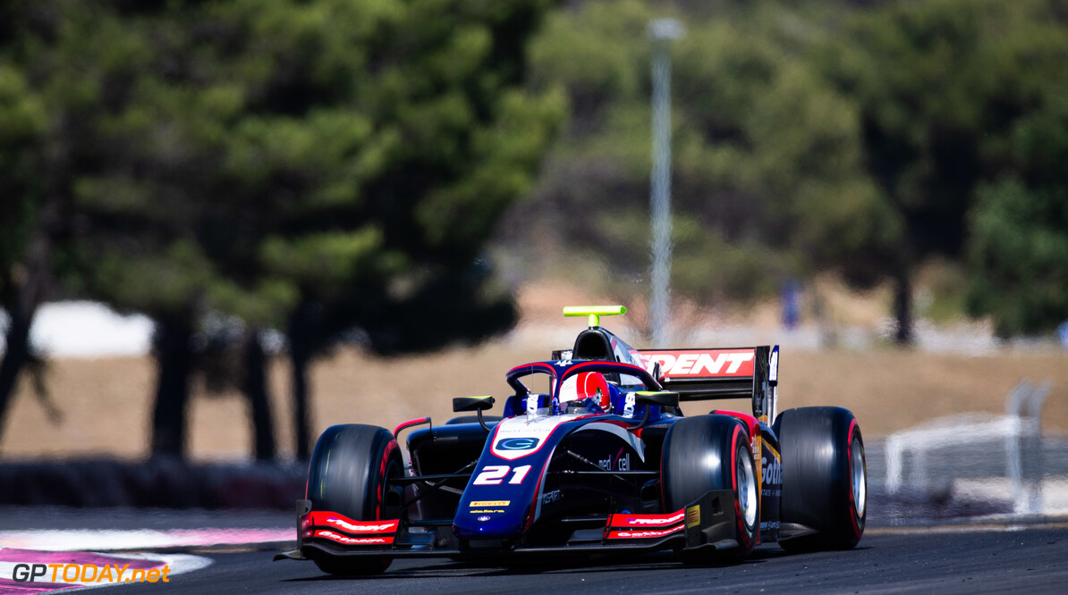 FIA Formula 2 CIRCUIT PAUL RICARD, FRANCE - JUNE 21: Ralph Boschung (CHE, TRIDENT) during the Paul Ricard at Circuit Paul Ricard on June 21, 2019 in Circuit Paul Ricard, France. (Photo by Joe Portlock / LAT Images / FIA F2 Championship) FIA Formula 2 Joe Portlock  France  FIA Formula 2