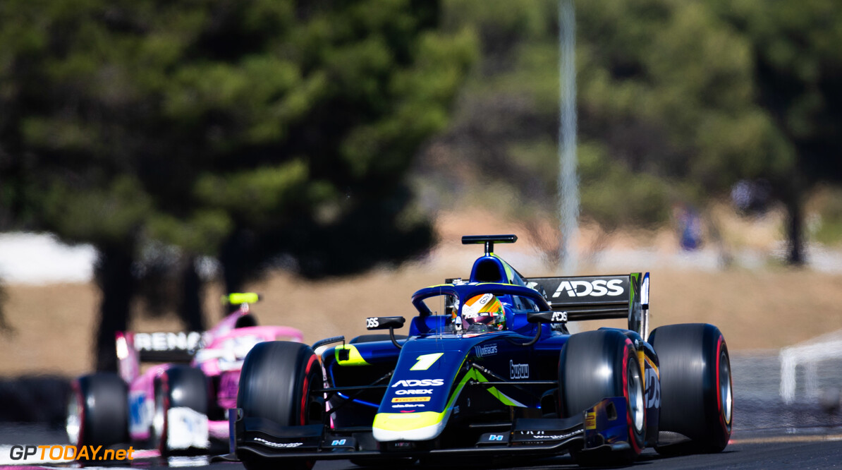 FIA Formula 2 CIRCUIT PAUL RICARD, FRANCE - JUNE 21: Louis Deletraz (CHE, CARLIN) during the Paul Ricard at Circuit Paul Ricard on June 21, 2019 in Circuit Paul Ricard, France. (Photo by Joe Portlock / LAT Images / FIA F2 Championship) FIA Formula 2 Joe Portlock  France  FIA Formula 2