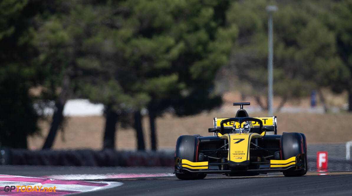FIA Formula 2 CIRCUIT PAUL RICARD, FRANCE - JUNE 21: Guanyu Zhou (CHN, UNI VIRTUOSI) during the Paul Ricard at Circuit Paul Ricard on June 21, 2019 in Circuit Paul Ricard, France. (Photo by Joe Portlock / LAT Images / FIA F2 Championship) FIA Formula 2 Joe Portlock  France  FIA Formula 2