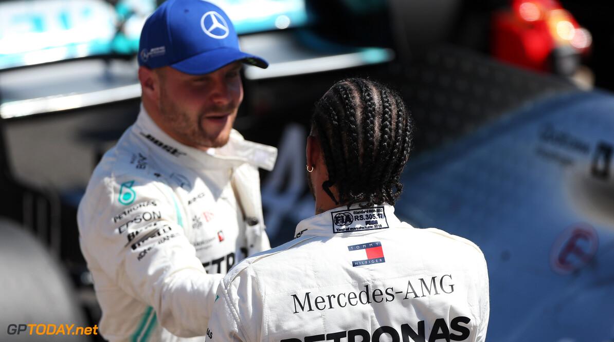 Hamilton: Keeping Bottas a 'smart decision' from Mercedes