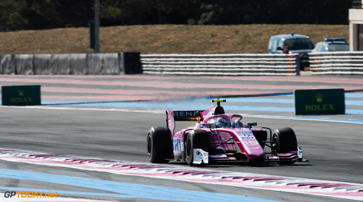 FIA Formula 2 CIRCUIT PAUL RICARD, FRANCE - JUNE 22: Anthoine Hubert (FRA, BWT ARDEN) during the Paul Ricard at Circuit Paul Ricard on June 22, 2019 in Circuit Paul Ricard, France. (Photo by Joe Portlock / LAT Images / FIA F2 Championship) FIA Formula 2 Joe Portlock  France  FIA Formula 2