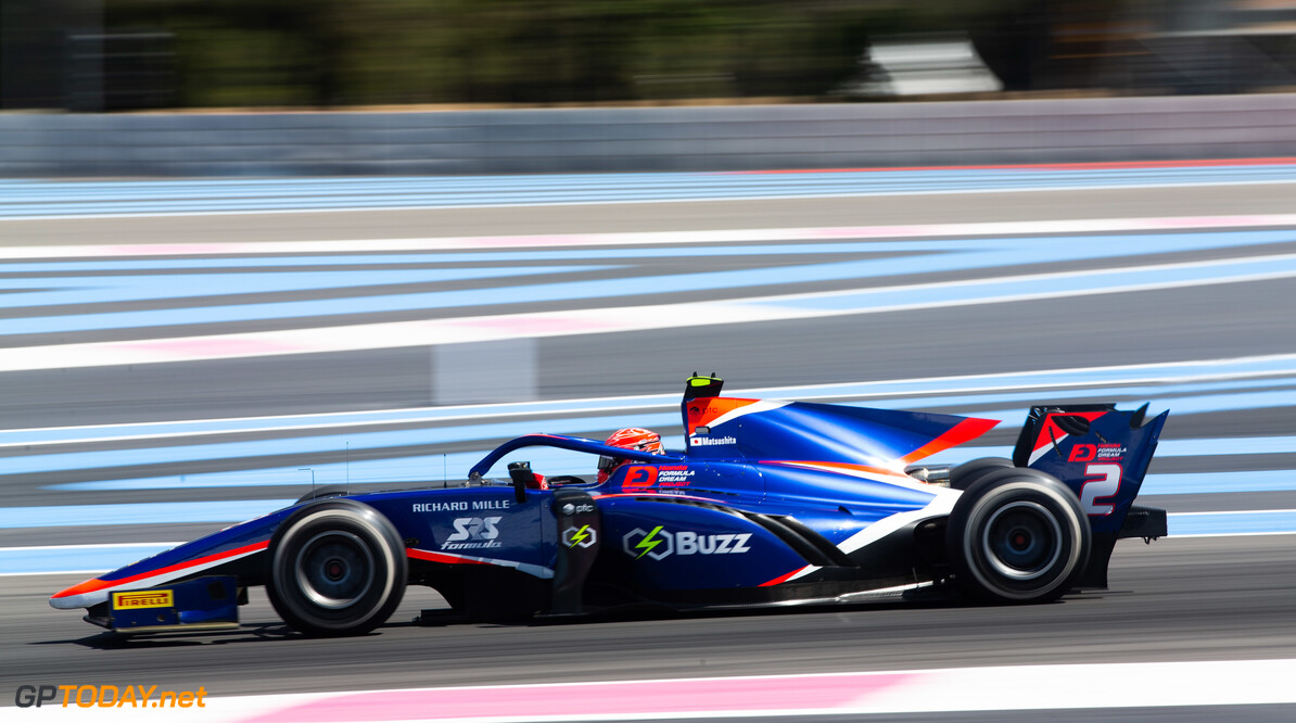 FIA Formula 2 CIRCUIT PAUL RICARD, FRANCE - JUNE 23: Nobuharu Matsushita (JPN, CARLIN) during the Paul Ricard at Circuit Paul Ricard on June 23, 2019 in Circuit Paul Ricard, France. (Photo by Joe Portlock / LAT Images / FIA F2 Championship) FIA Formula 2 Joe Portlock  France  FIA Formula 2