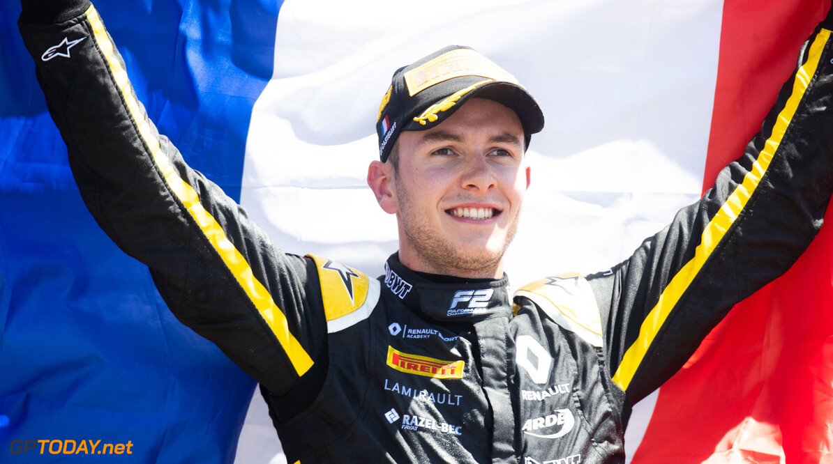 FIA Formula 2 CIRCUIT PAUL RICARD, FRANCE - JUNE 23: Anthoine Hubert (FRA, BWT ARDEN) during the Paul Ricard at Circuit Paul Ricard on June 23, 2019 in Circuit Paul Ricard, France. (Photo by Joe Portlock / LAT Images / FIA F2 Championship) FIA Formula 2 Joe Portlock  France  FIA Formula 2