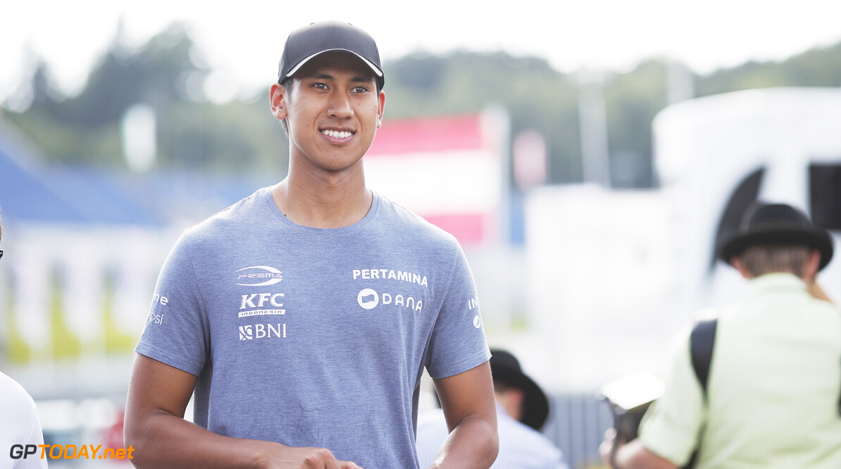 FIA Formula 2 RED BULL RING, AUSTRIA - JUNE 27: Sean Gelael (IDN,PREMA RACING) during the Spielberg at Red Bull Ring on June 27, 2019 in Red Bull Ring, Austria. (Photo by Joe Portlock / LAT Images / FIA F2 Championship) FIA Formula 2 Joe Portlock  Austria  FIA Formula 2