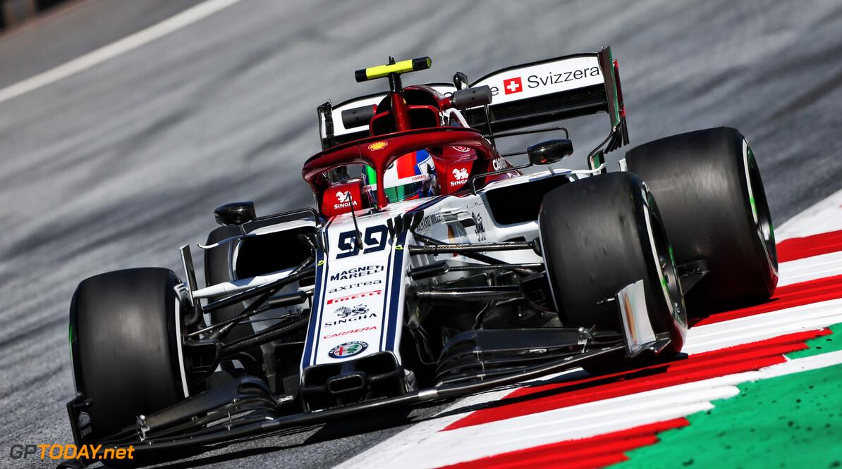 Alfa Romeo fined over fuel temperature on Giovinazzi's car