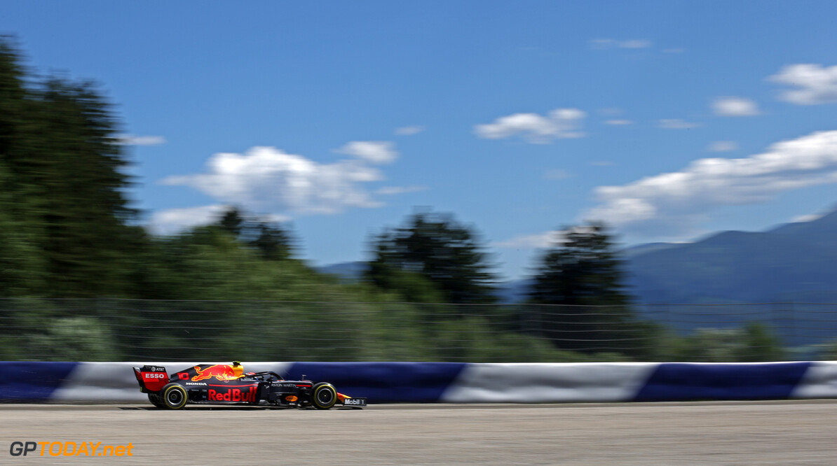 Formula One World Championship Max Verstappen (NLD), Red Bull Racing  28.06.2019. Formula 1 World Championship, Rd 9, Austrian Grand Prix, Spielberg, Austria, Practice Day. - www.xpbimages.com, EMail: requests@xpbimages.com - copy of publication required for printed pictures. Every used picture is fee-liable. (C) Copyright: Charniaux / XPB Images Motor Racing - Formula One World Championship - Austrian Grand Prix - Practice Day - Spielberg, Austria xpbimages.com Spielberg Austria  Formel1 Formel F1 Formula 1 Formula1 GP Grand Prix one Circuit Austria Austrian Spielberg Zeltweg Friday June 28 06 6 2019 Action Track