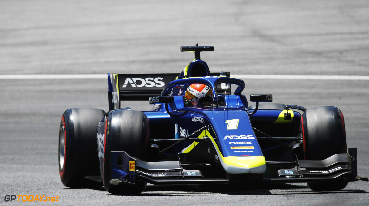 FIA Formula 2 RED BULL RING, AUSTRIA - JUNE 28: Louis Deletraz (CHE, CARLIN) during the Spielberg at Red Bull Ring on June 28, 2019 in Red Bull Ring, Austria. (Photo by Joe Portlock / LAT Images / FIA F2 Championship) FIA Formula 2 Joe Portlock  Austria  FIA Formula 2 ts-live