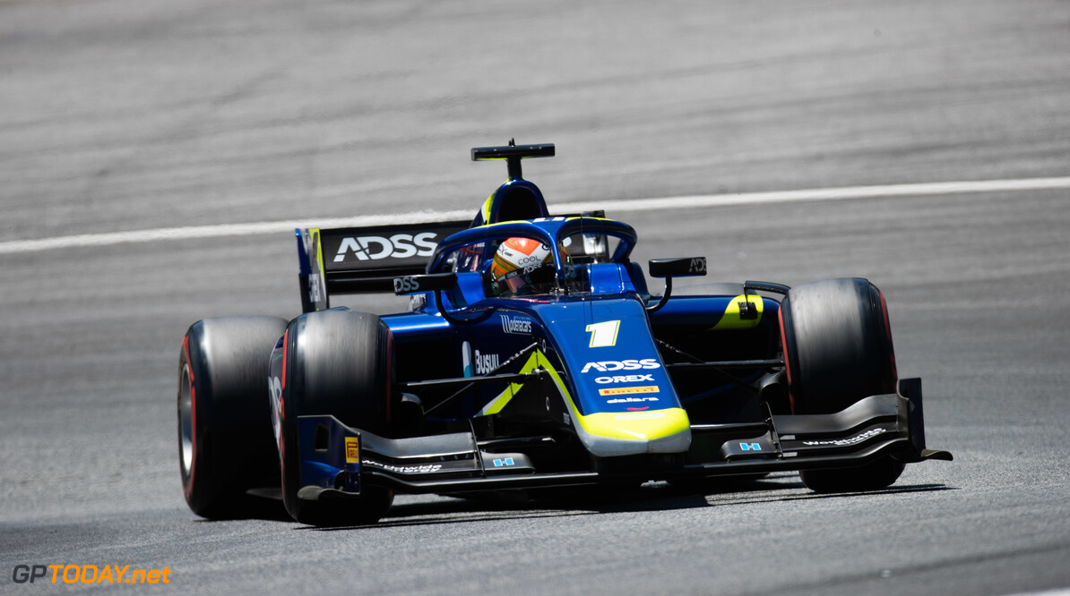 FIA Formula 2 RED BULL RING, AUSTRIA - JUNE 28: Louis Deletraz (CHE, CARLIN) during the Spielberg at Red Bull Ring on June 28, 2019 in Red Bull Ring, Austria. (Photo by Joe Portlock / LAT Images / FIA F2 Championship) FIA Formula 2 Joe Portlock  Austria  FIA Formula 2